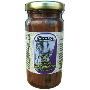 Filetti di acciughe Del CANTABRICO in olio di oliva