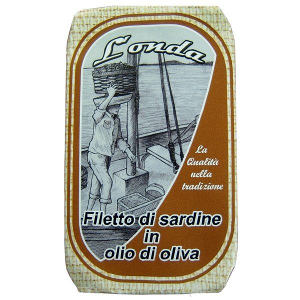 Filetto di sardina in olio di oliva