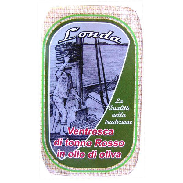 Ventresca di Tonno Rosso in olio di oliva