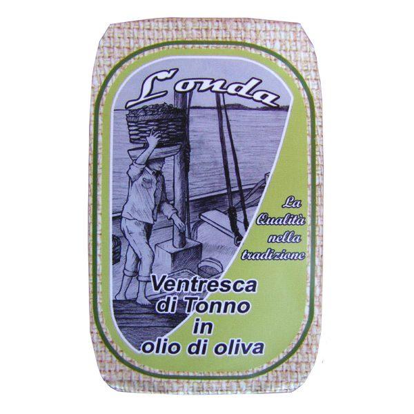 Ventresca di tonno in olio di oliva