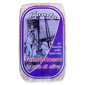 Tonno rosso in olio di oliva