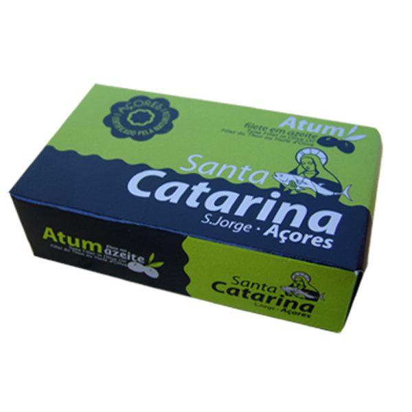 Filetto di tonno in olio di oliva - Santa Catarina